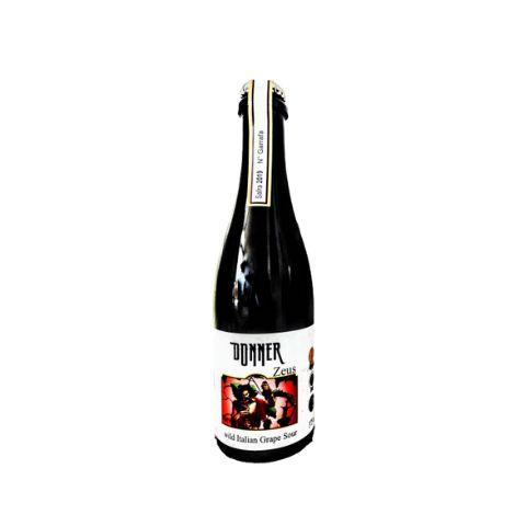 Cerveja Donner Craft Brew Zeus Safra 2019 Wild Italian Grape Ale - 375ml
