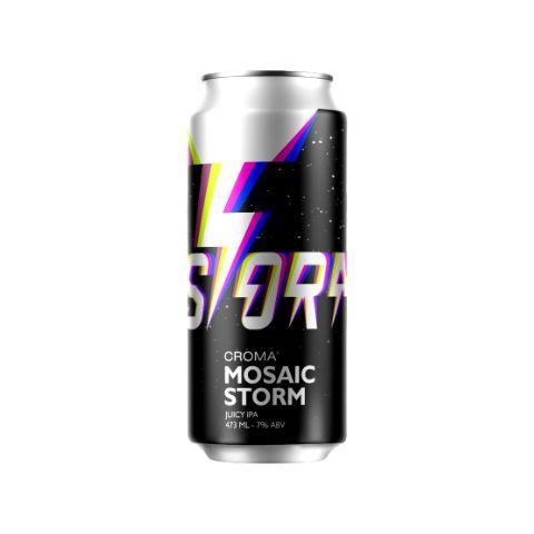 Cerveja Croma Mosaic Storm Juicy IPA Lata - 473ml