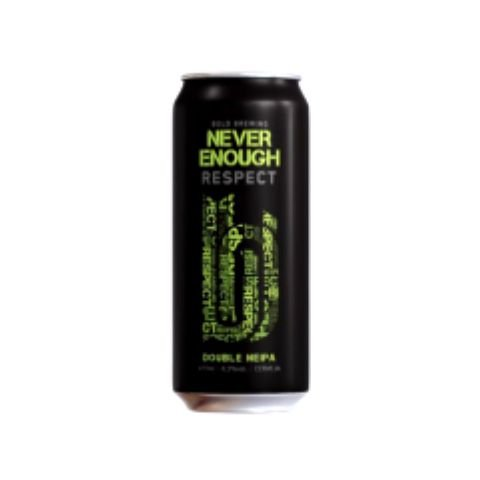Cerveja Bold Brewing Never Enough Respect Double New England IPA Lata - 473ml