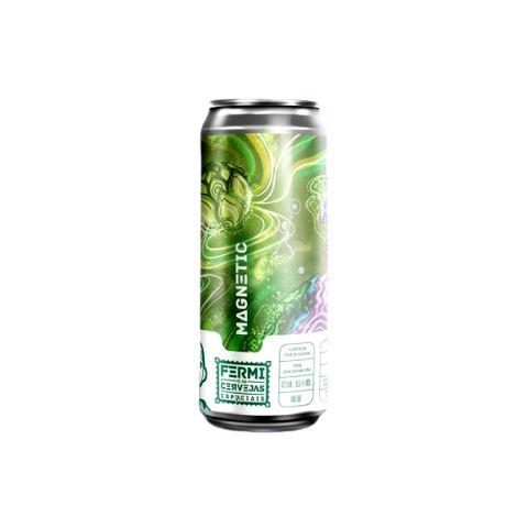 Cerveja Fermi Magnetic American IPA Lata - 473ml