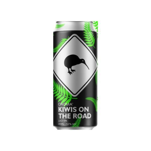 Cerveja Croma Kiwis On The Road Juicy IPA Lata - 473ml