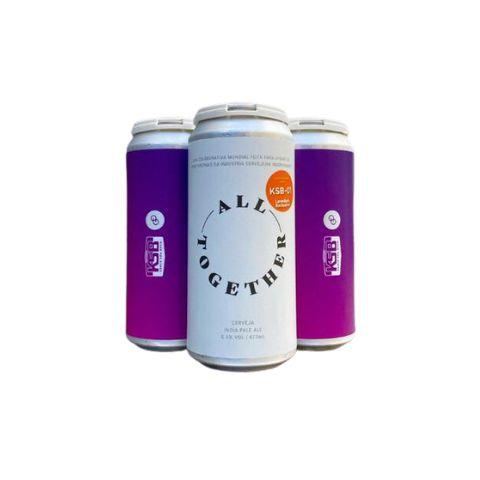 Cerveja Koala San Brew + Other Half All Together KSB-01 New England IPA Lata - 473ml