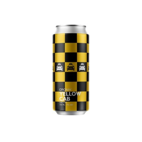 Cerveja Croma Yellow Cab Juicy IPA Lata - 473ml