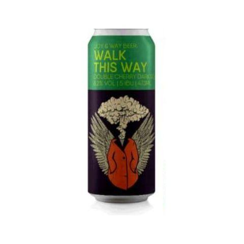 Cerveja Joy Project + Way Beer Walk This Way Double Cherry Dark Sour Lata - 473ml