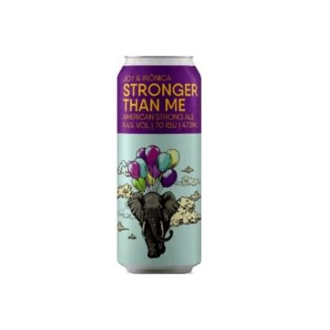 Cerveja Joy Project + Irônica Stronger Than Me American Strong Ale Lata - 473ml