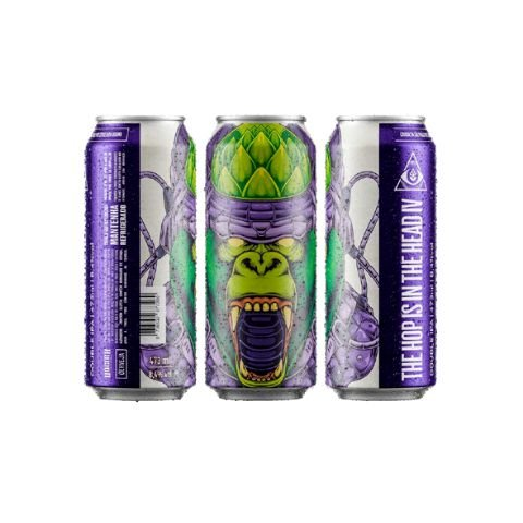 Cerveja Dogma The Hop Is In The Head IV Double IPA Lata - 473ml