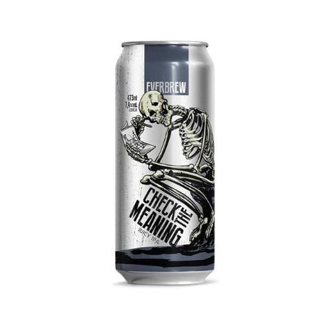 Cerveja EverBrew Check The Meaning New England IPA Lata - 473ml