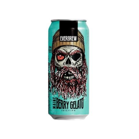 Cerveja EverBrew Maine Berry Gelato Juicy IPA Lata - 473ml