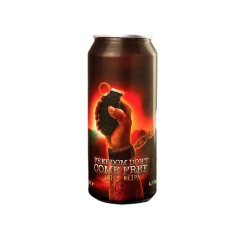 Cerveja Spartacus Freedom Don't Come Free Juicy NEIPA Lata - 473ml