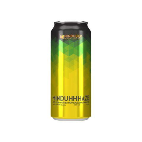 Cerveja MinduBier MinduHHHaze Triple Dry Hopped Double New England IPA Lata - 473ml