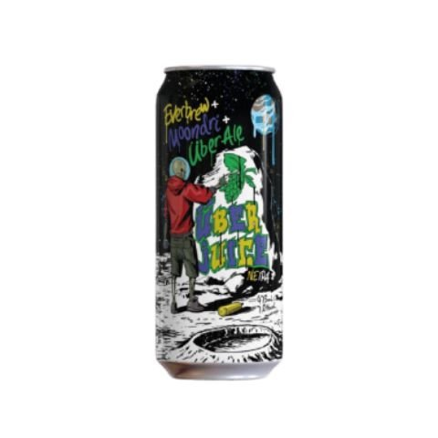 Cerveja Moondri + EverBrew + Über Ale Über Juice New England IPA Lata - 473ml
