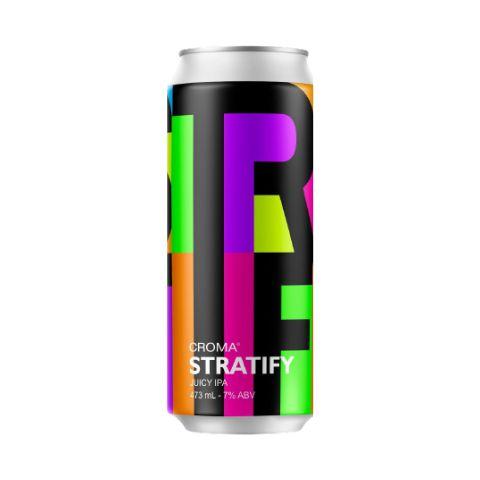 Cerveja Croma Stratify Juicy IPA Lata - 473ml