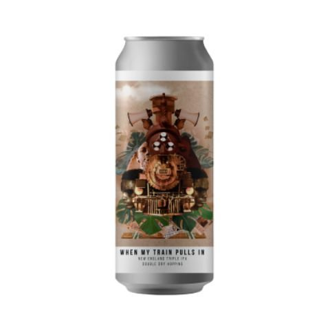 Cerveja Octopus When My Train Pulls In Triple New England IPA Lata - 473ml