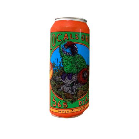 Cerveja Locals Only Brewing Co 365 Dias Imperial Sour Imperial Dark Sour C/ Cacau e Cumaru Lata - 473ml