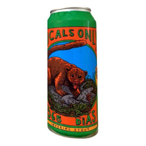 Cerveja Locals Only Brewing Co 365 Dias Imperial Stout C/ Cacau e Cumaru Lata - 473ml