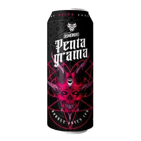 Cerveja Demonho Pentagrama Double Juicy IPA Lata - 473ml