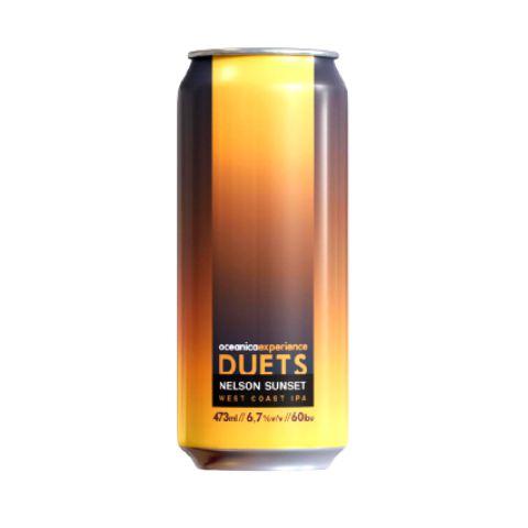 Cerveja Oceânica Experience Duets Nelson Sunset West Coast IPA Lata - 473ml