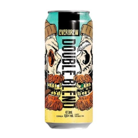 Cerveja EverBrew Double Blend Juicy Double IPA Lata - 473ml