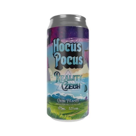 Cerveja Hocus Pocus Reality Czech Czech Pilsner Lata - 473ml