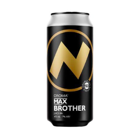 Cerveja Croma Max Brother Juicy IPA Lata - 473ml