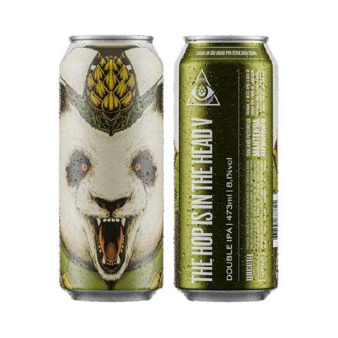 Cerveja Dogma The Hop Is In The Head V Hazy Double IPA Lata - 473ml