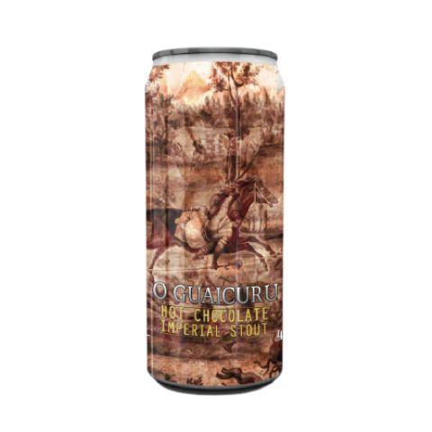 Cerveja Spartacus + Tarin O Guaicuru Mexican Imperial Stout C/ Cacau, Baunilha, Canela, e Pimenta Lata - 473ml
