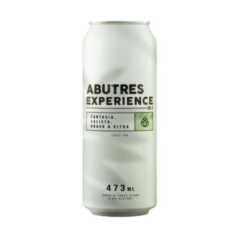 Cerveja Abutres Experience Vol 2 Fantasia, Calista, Bravo & Citra Juicy IPA Lata - 473ml