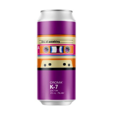 Cerveja Croma K-7 Juicy IPA Lata - 473ml