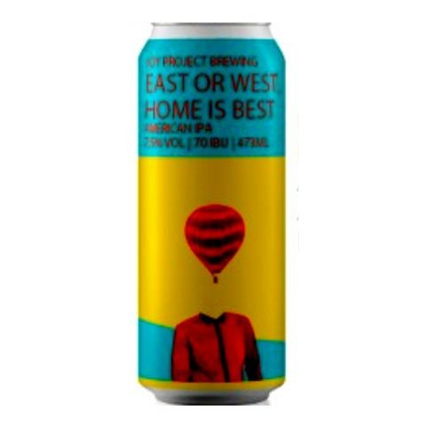 Cerveja Joy Project East Or West, Home Is Best American IPA Lata - 473ml
