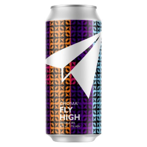 Cerveja Croma Fly High Double IPA Lata - 473ml