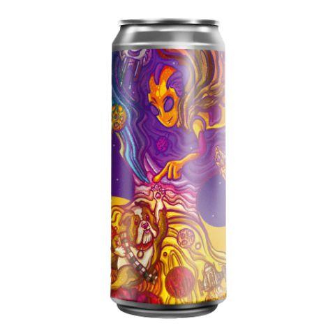 Cerveja Fermi + Bastards Brewery Dark Side Of The Juicy Dark Juicy IPA Lata - 473ml