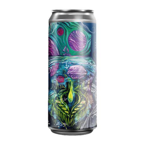 Cerveja Fermi + Unika Kraken Mare Juicy IPA C/ Água do Mar Lata - 473ml