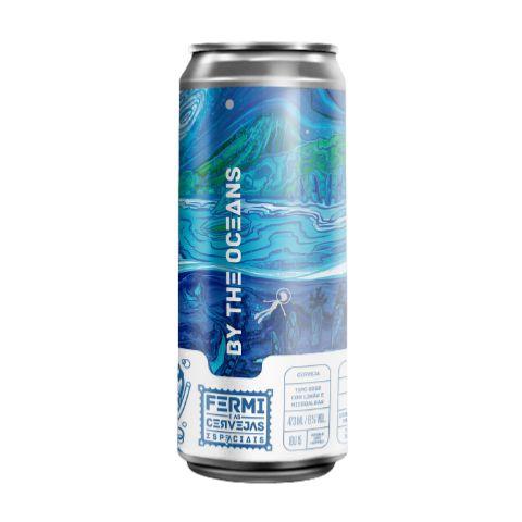 Cerveja Fermi By The Oceans Gose C/ Limão Siciliano e Micro Algas Marinhas Lata - 473ml