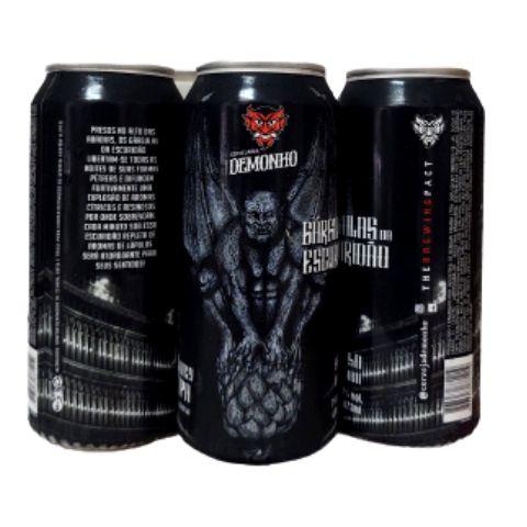 Cerveja Demonho Gárgulas da Escuridão Juicy IPA Lata - 473ml