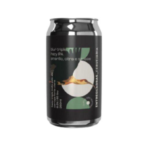 Cerveja Entrequadras Blur Hazy Triple IPA Lata - 350ml