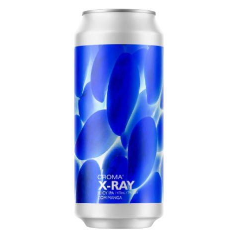 Cerveja Croma X-Ray Juicy IPA C/ Manga Lata - 473ml