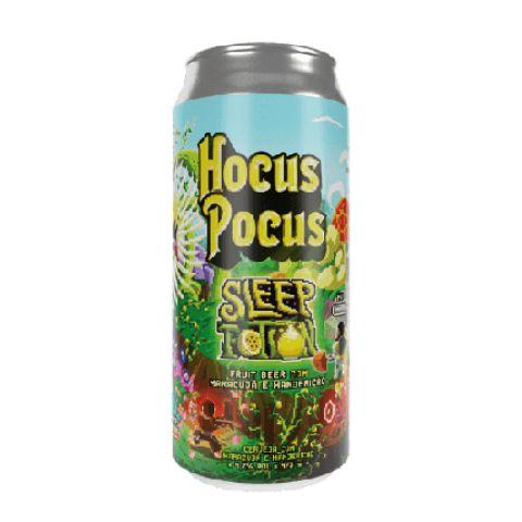 Cerveja Hocus Pocus Sleep Potion Fruit Beer C/ Maracujá e Manjericão Lata - 473ml