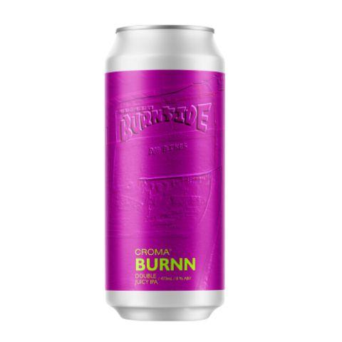 Cerveja Croma Burnn Double Juicy IPA Lata - 473ml