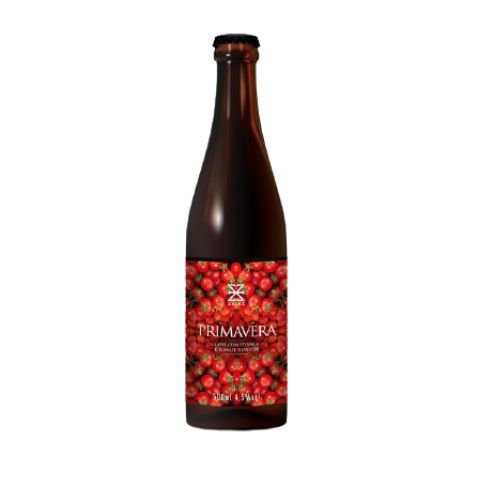 Cerveja Zalaz Primavera Gose C/ Tomates Silvestres e Pitangas - 500ml