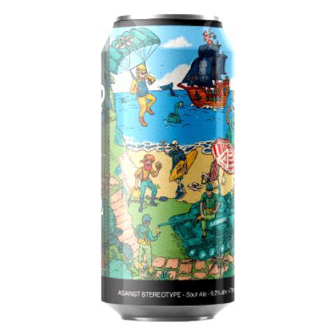 Cerveja Carioca Brewing Co. Onde Está O Gole? Against Stereotype Sour Ale C/ Café e Amora Lata - 473ml