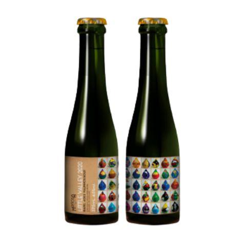 Cerveja Mafiosa Little Valley 2020 Barrel Aged Sour Ale C/ Figo Roxo Lata - 473ml