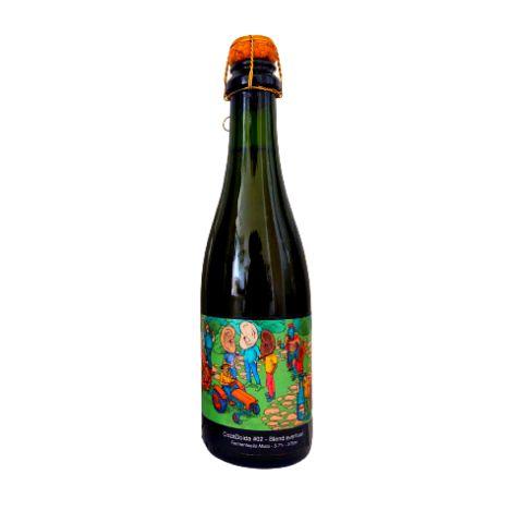 Cerveja CozaLinda Onde Está O Gole? CozaDoida #02 Blend Eventual Fermentação Mista - 375ml