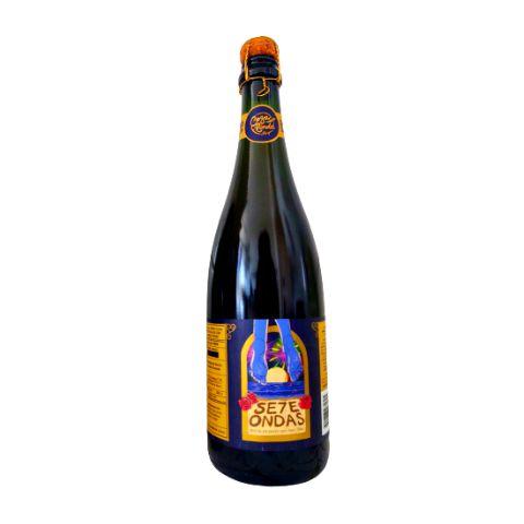 Cerveja CozaLinda Se7e Ondas Wild Ale C/ Amoras e Rosas - 750ml