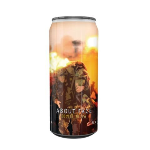 Cerveja Spartacus About Face Double NEIPA Lata - 473ml