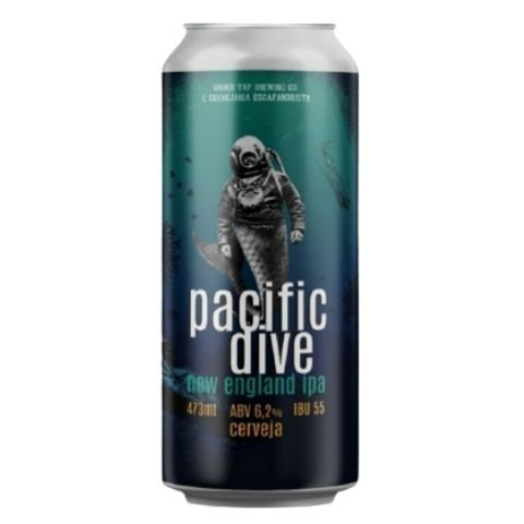 Cerveja Under Tap + Escafandrista Pacific Dive New England IPA Lata - 473ml