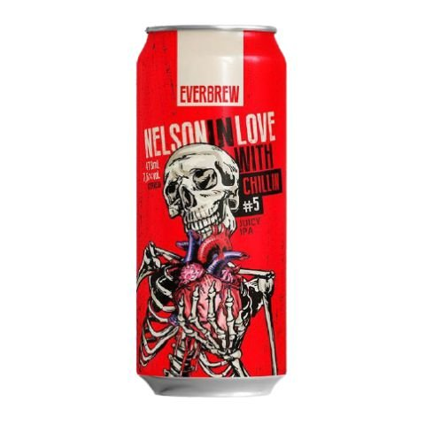 Cerveja EverBrew Nelson In Love Chillin Juicy IPA Lata - 473ml