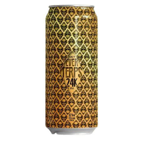 Cerveja EverBrew EverTerps 24k Juicy IPA Lata - 473ml