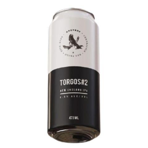 Cerveja Abutres Torgos #2 New England IPA Lata - 473ml