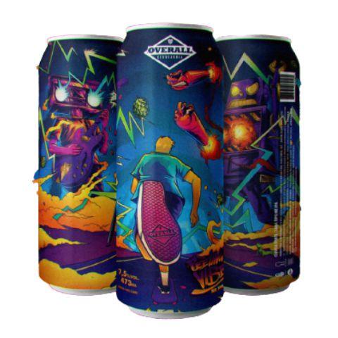 Cerveja Overall Feeling The Vibes New England IPA Lata - 473ml