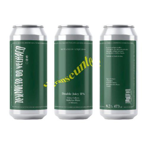 Cerveja Devaneio do Velhaco Transeunte Double Juicy IPA Lata - 473ml